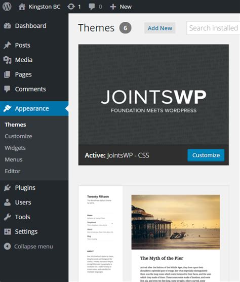 Wordpress Theme Editor Error | creating wordpress themes with pinegrow web editor