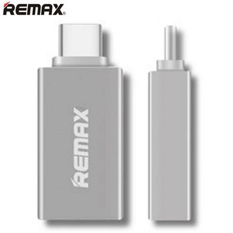 Remax Type C To Usb Otg Adapter For Apple Macbook Chromebo remax re otg1 type c to usb otg adapter for android mac os