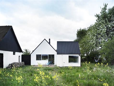 Swedish Farmhouse Plans | swedish summer retreat by lasc studio