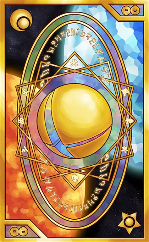 Clow Card Photoshop Template by Smash Bros Tarot And Clow Card Inspired Back By Quas