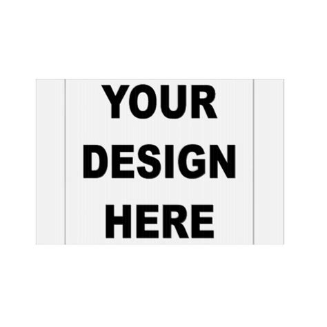 design your own custom photo lawn sign zazzle