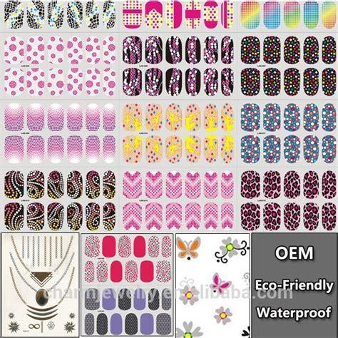 Sticker Kuku Gell 3d bunga nail stiker decals untuk diy uv gel