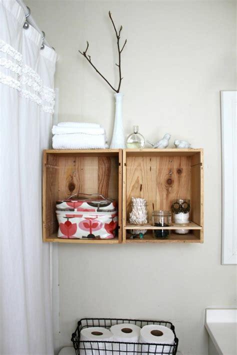 Badezimmer Regal Deko by 42 Weinkisten Deko Ideen Und Mobiliar
