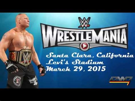 theme song wrestlemania 31 wwe wrestlemania 31 official theme song quot rise quot by david