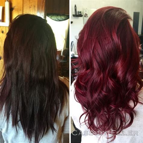 best 25 wine hair ideas on wine colored hair