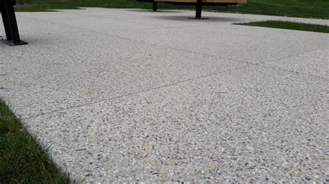 Aggregate Cement Patios by Expoed Aggregate Patio Up Shore Aggregate