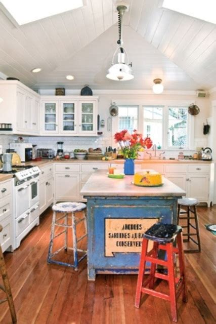 Vintage Kitchen Island Ideas Cool Vintage Kitchen Island Design Ideas Kitchen Pixewalls