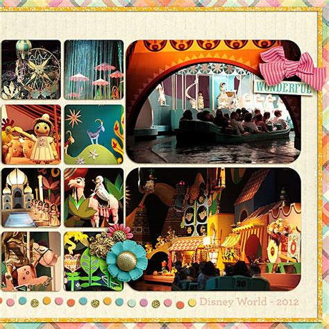 micro layout scrapbook 17 best images about it s a small world layouts on