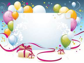 Free Birthday Powerpoint Templates by Happy Birthday Present Powerpoint Templates Border