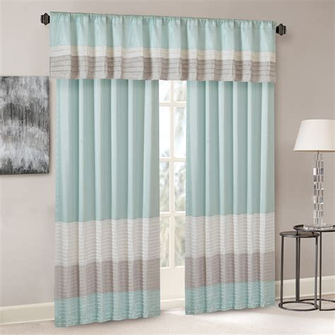pintuck curtains madison park amherst polyoni pintuck window curtain ebay