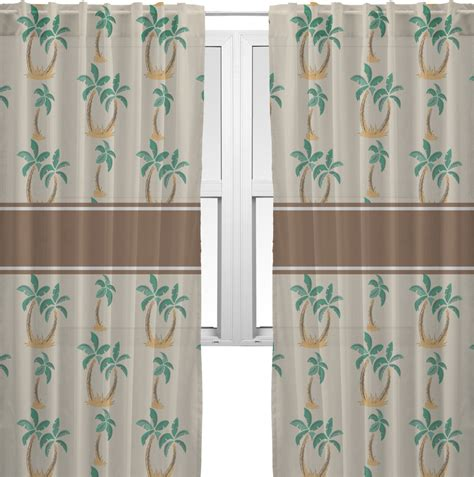 palm curtains palm trees sheer sheer curtains 60 quot x60 quot personalized