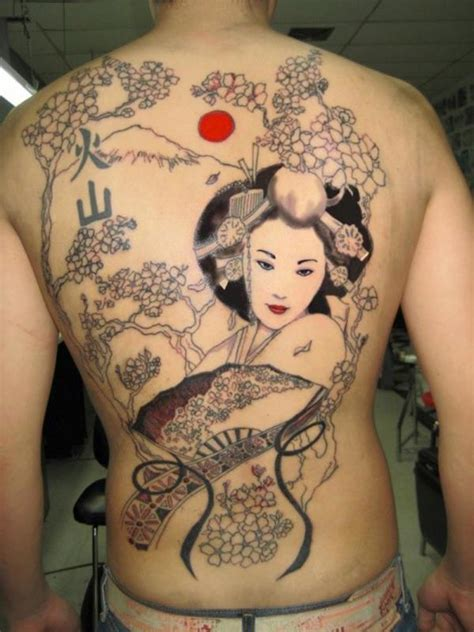 naked girl tattoo 50 amazing designs japanese geisha