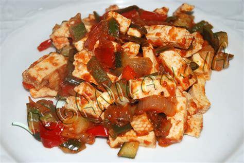 cocinar tofu firme veganilandia tofu con pisto
