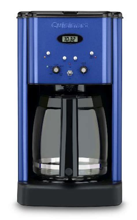 Cuisinart DCC 1200MBL Brew Central 12 Cup Programmable Coffeemaker, Metallic Blue Reviews ~ Best