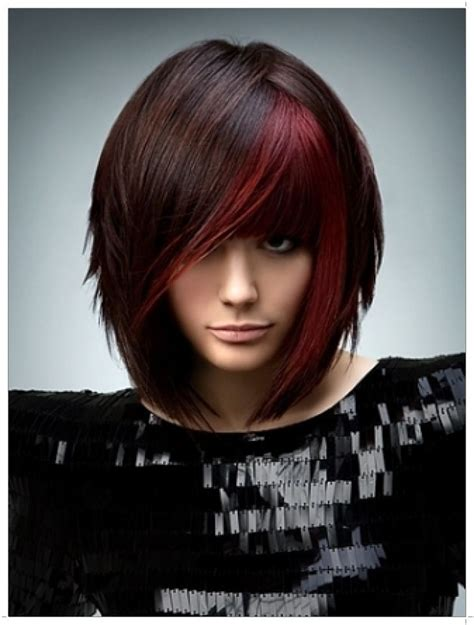 foils with red blonde chin length hair 17 best images about cute cuts on pinterest ponytail
