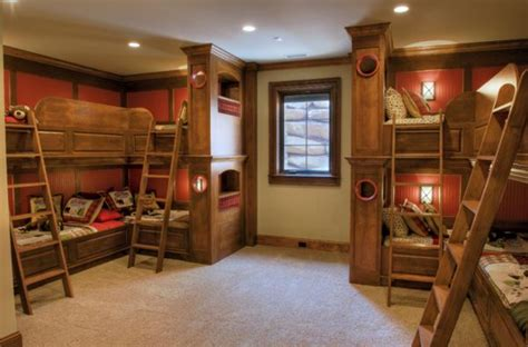 bunk bedroom ideas give your home a cozy cabin feel this winter