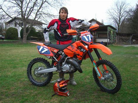 125ccm Motorräder Cross by Motocross Ktm 125ccm Motorrad Bild Idee