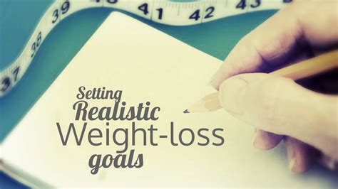 weight loss goals weight loss goal setting smart weight loss goals truweight