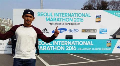 kekurangan film gie begini perjuangan ibnu jamil maraton di korea selatan