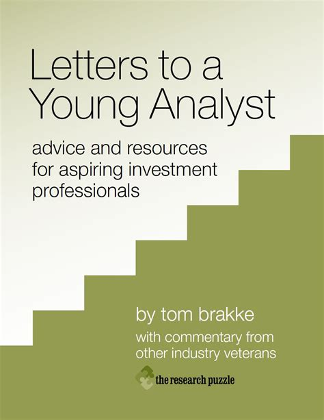 letters to a young letters to a young analyst a book review