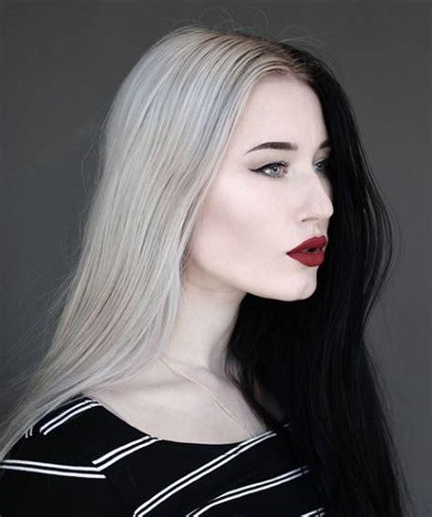split hair two tone dye splithair