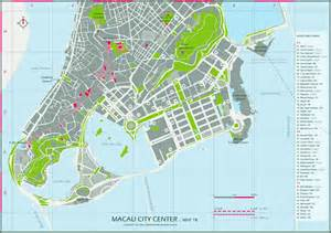 maps of macau detailed macau of lebanon in