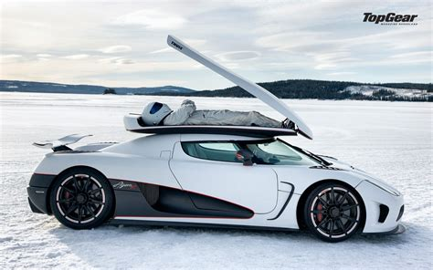 Koenigsegg Agera Top Gear Winter White Cars Top Gear The Stig Koenigsegg Agera R