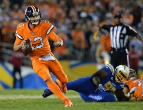 broncos and chargers score chargers at broncos highlights score and recap