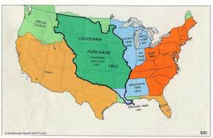 map of the united states in 1803 19th century america