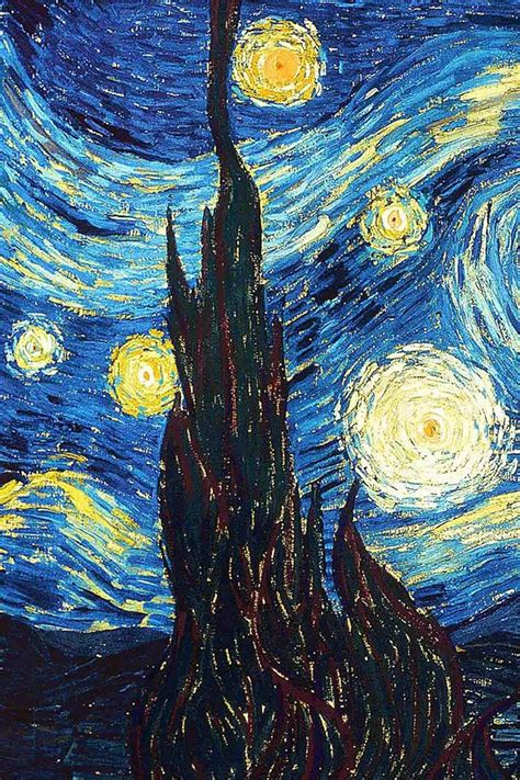 starry iphone wallpaper 17 best images about artist reference on starry nights vincent gogh and monet