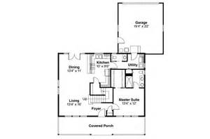 Craftsman Floor Plan by Craftsman House Plans Westborough 30 248 Associated