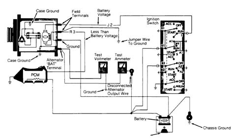 ammeter wiring jeep wiring diagrams