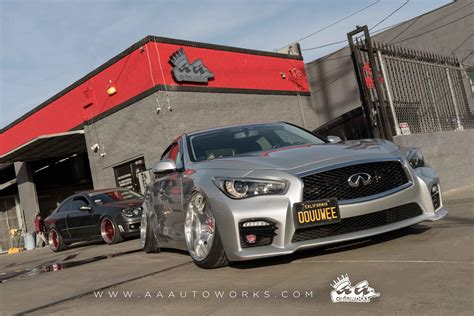 Infinity Auto Works by Infinity Q50 Quarter Panel Flares Aa Autoworks