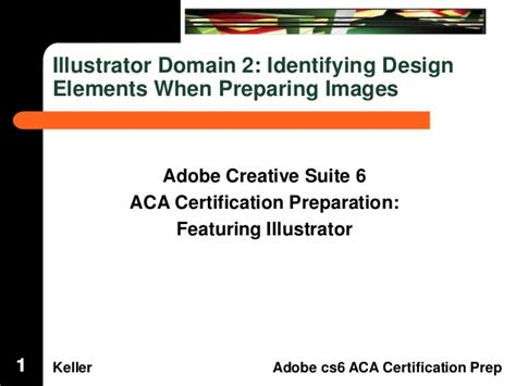 identifying design elements when preparing images aca illustrator domain 2