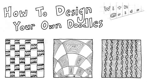 design pattern with exle in c how to doodle your own zentangle patterns part 3 using