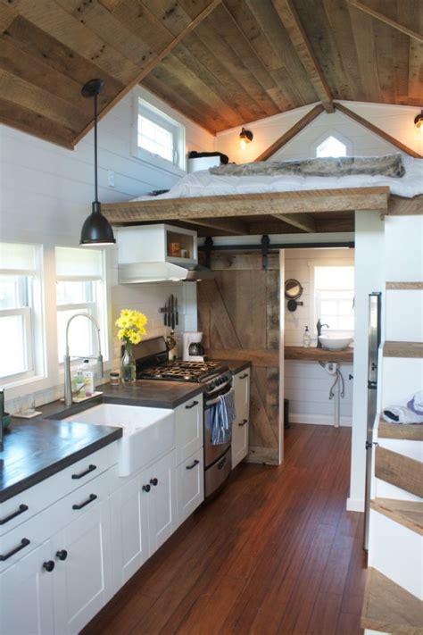 tiny house kitchen ideas chip and joanna gains inspired modern farmhouse tiny house on wheels new decorating ideas