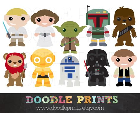 printable star wars characters star wars characters clipart clipart suggest
