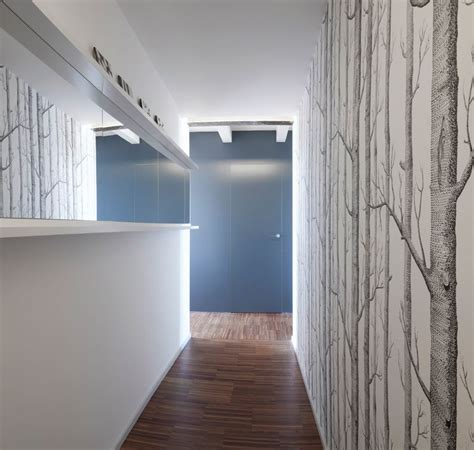 apartment hallway compact and stylish apartment takes the place of a dental