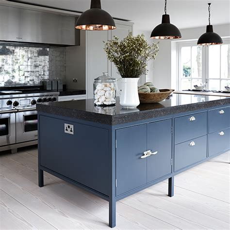 Kitchen trends   shades of blue