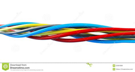 wires color royalty free stock photos image 22964988