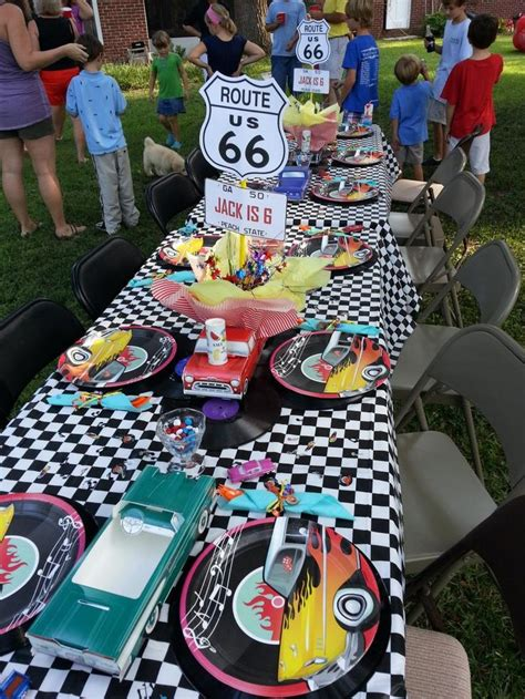 hot rod themes 17 best images about hot rod birthday party decorations on
