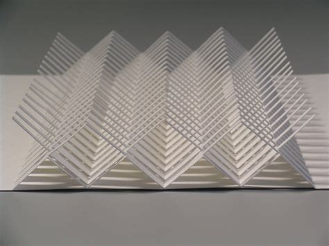 Folding Paper Architecture - origamic architecture 01 by hilde s via flickr models