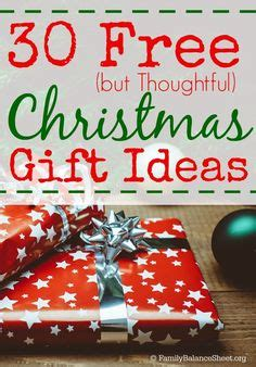 thoughtful free christmas gift ideas gifts christmas