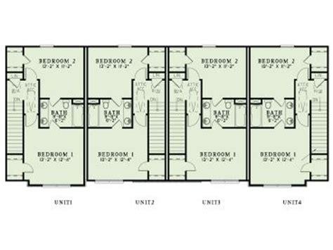 multi family apartment floor plans multi family house plans apartment plan 025m 0094 at