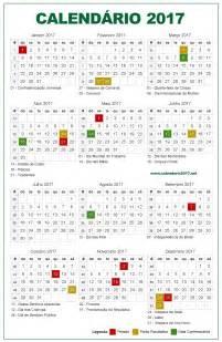 Webcid Calendario 2018 Calend 225 De Feriados No Brasil Em 2017 Portal Cultura