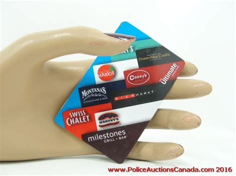 Ultimate Gift Card - police auctions canada the ultimate dining restaurant gift card 125 00 124184h