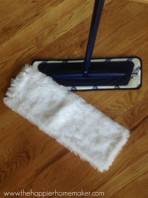 easiest   shine  clean hardwood floors  happier homemaker