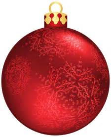 red christmas ball png clipart clipart