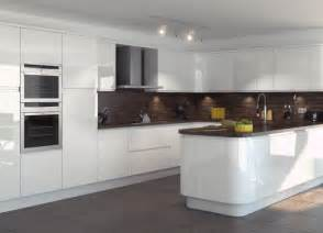 white gloss kitchen cabinets should you buy a handleless kitchen your kitchen broker