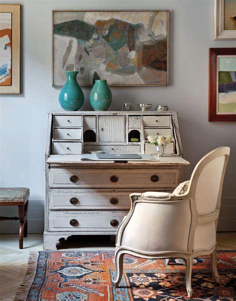 shabby chic secretary desk art deco apartment in the el dorado remodelaholic